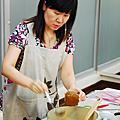 2010/10/9親子烘焙~scone,柚子醬