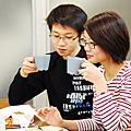 2011/2/12 親子烘焙~岩漿巧克力蛋糕
