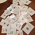 蜜妞學習字卡製作