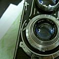 TLR 120 雙眼反光相機 Flexaret IVa (Lubitel Rolleicord 可參考 ) 有鏡頭蓋完整皮套