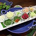 泰國。清邁河濱區 WOO Cafe / The Riverside Bar & Restaurant / 瓦洛洛市場