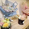 台北乾燥花課程推薦『喜歡生活乾燥花店』DIY乾燥花束課程/新娘捧花、胸花/告白、求婚、生日、畢業花束/各式歐日乾燥花材