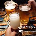 台中美食/大遠百12樓『大河屋燒肉丼串燒台中大遠百店』日式丼飯/生啤酒/串燒美食