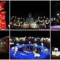 彰化景點『2021彰化月影燈季』卦山祈福燈區