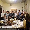 碩專班聚北平烤鴨逸仙樓2010-12-18