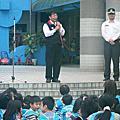 仁艾活動*100年度員工自衛消防編組動態疏散演練暨消防宣導體驗活動