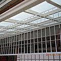 台北市-新北市-桃園市-基隆市-宜蘭縣-玻璃採光罩-施工日誌