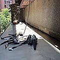 台北市-信義區-150巷-342弄-2X號-塑鋁板採光罩+人工草皮-施工日誌