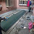新北市-汐止區公所-禮門里-里民活動中心-不銹鋼鐵架塑鋁板防水工程-施工日誌