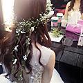 浪漫夢幻的花冠造型