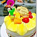 1020207三歲蛋糕吃到吐之第二彈