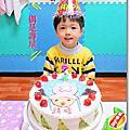 1020208布丁三歲生日第三彈。妙媽咪