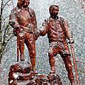 春天的溫哥華,花飛櫻吹雪,竟也真的下雪了!
