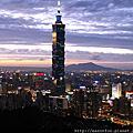 2008-1-19 怎麼能不看的101夜景照
