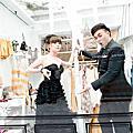 東潮時裝西服顧客婚紗照推薦