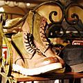 日系品牌造型男性真皮靴