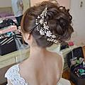 新娘造型-花苞、包頭