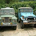 1967年份英國路寶LANDROVER草綠色,排氣量2200cc柴油.外殼鋁合金