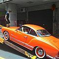 1966年 Karmannghia卡門福斯古董車 前往『台北華山藝文中心』拍攝(古董車出租)