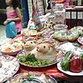 台北 萬華華西街美食with中元普渡