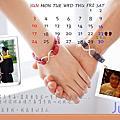PhotoCap自製桌曆