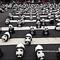 1600貓熊世界之旅│紙貓熊特展