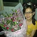 99.7.31學生送的大束花