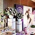 紫色城堡婚禮佈置-桃禧航空城酒店