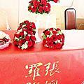 埔心牧場-紅白色系婚禮佈置