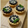 2016烘焙_手感藍莓塔