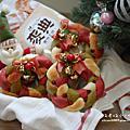 2016烘焙_彩色花圈麵包