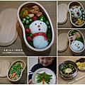 2017料理_聖誕風弁當