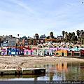 【加州景點】彩色地中海 Capitola City Beach
