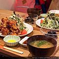 【岡山市區美食】Kitchen Horiguchi 炸雞定食。上班族的美味午餐