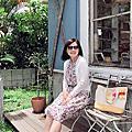 【浦添市港川外人住宅】享受7號颱風來之前的大豔陽也迷路在可愛雜貨古著裡