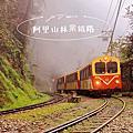 【奮起湖搭小火車】從1403M奮起湖站到1534M十字路站喝鳴心咖啡。2020春