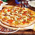 【宜蘭頭城】貝加莫廚房。美味現桿Pizza跟九喜炸雞