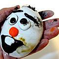 Lush雪人寶寶趣味皂