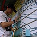 烏來福山彩繪房子