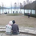 108/1/26草坪頭櫻花季、日月潭向山遊客中心