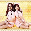 絕美雙胞胎俏耍瘦臉小心機 香豔出浴照尬人氣