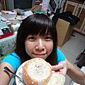 20111113漢堡排+麵包盅