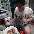 20120414 潤餅趴(潤餅,月亮蝦餅,花生糖冰淇淋)