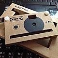 20120622IKEA KNÄPPA紙相機
