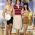 2005/04/25 梁詠琪擔任櫥窗設計師