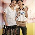 2005/04/26 媒體雙生兒Twins代言松日數位科技MP3