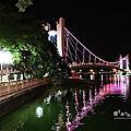 龍潭大池夜景