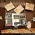 【Rice Caff'e 米咖啡】2012.07.17飛出一身的黑系列明信片in台中 米咖啡