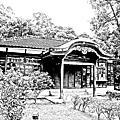 桃園神社(素描版)