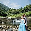 台北婚紗攝影拍攝景點-金瓜石瀑布